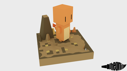 Cube Charmander by WFpeonix