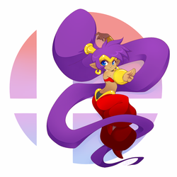 VOTE SHANTAE for SMASH BROTHERS!! by gunmouth