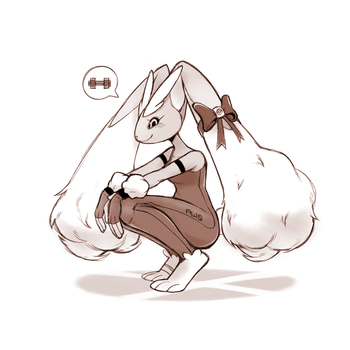 Lopunny by Aw0