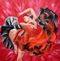 Flamenco Dancer by CpointSpoint
