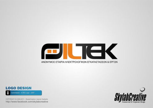 Commission : ILTEK : Electrical Engineering SA by SkylabCreative