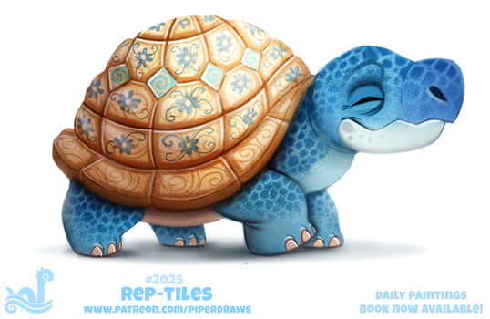 Daily Paint 2025# Rep-tiles by Cryptid-Creations