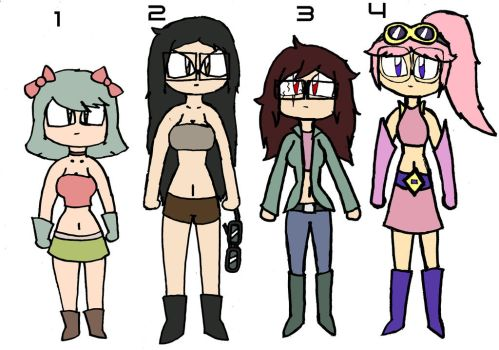 Free Adoptables Batch 640 (Closed) by D-Prototype