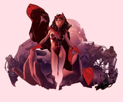Scarlet Witch by AdamHughes