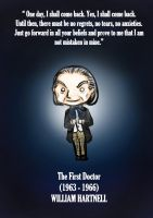 The first doctor - Doctor who fanart by MoztDangerous