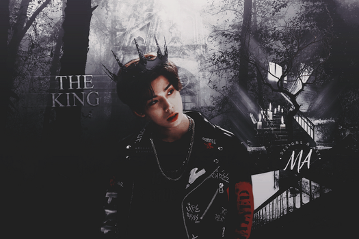 THE KING \ SF9 Hwiyoung by madgarts