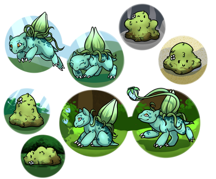 PKMN: Pebble and Lil lvls by SonaLover