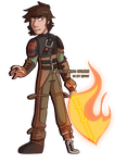 Contest Prize - Hiccup by GirlWithTheGreenHat