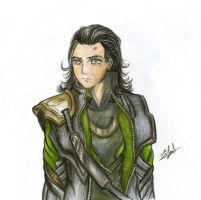 Loki II by Eilyn-Chan