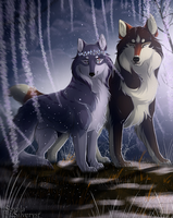 WoLF:. The Copper Prince and the Ice Lady by Soyala-Silveryst