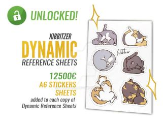 Dynamic reference sheets BONUS PERK UNLOCKED by Kibbitzer