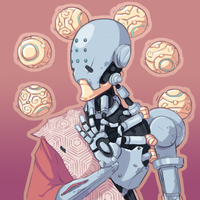 Zenyatta by ThePixelPuffin