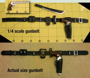1/4 scale gun belt for The Walking Dead repaint by my-immortals
