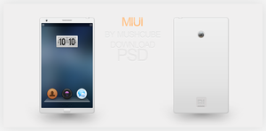 MIUI Phone PSD by Mushcube
