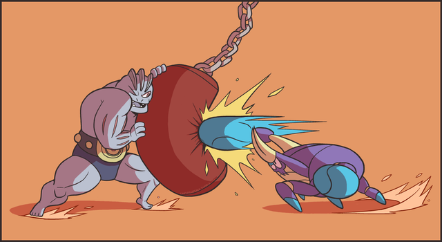 Fight Crab by captainosaka