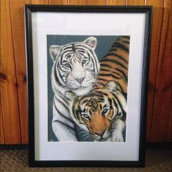 Pair of Tigers by Narniakid