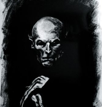 Willem Dafoe as Nosferatu by Sundial-Design