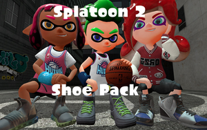 Splatoon 2 Shoe Pack by DarkMario2