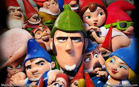 Sherlock Gnomes 02 BestMovieWalls by BestMovieWalls
