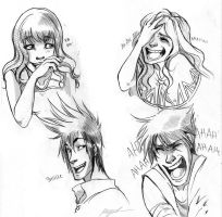 Smile and Laugh - Expressions by Myed89