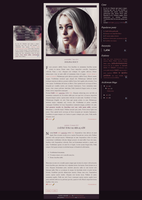 Blogspot template Dolina nocy by stupid-owl