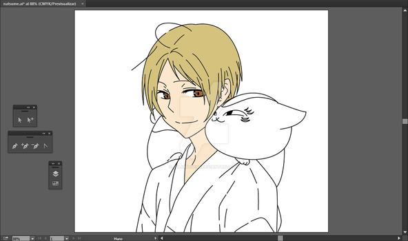 Lineal art - Natsume Part 04 by juliojosesr