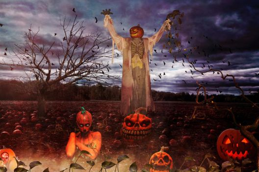Rise of the Pumpkins by KarmaRae