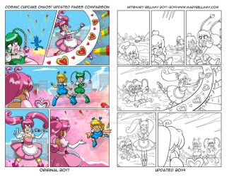 Cosmic Cupcake Chaos Attack 2! by MaryBellamy