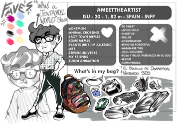 MEET THE ARTIST (u otra causa pa cambiar el ID) by Isu-kun