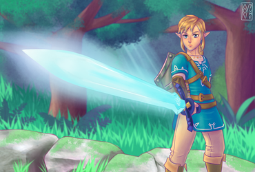 Master Sword by Kyyume