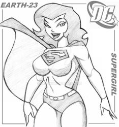 SUPERGIRL, EARTH-23 by icemaxx1