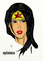 The Wonder Woman by MIRAGE-5X5