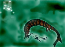 Mosasaurus by Durbed