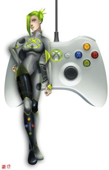 Xbox Controller by TyrineCarver