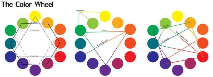 Color wheel color theory by SpicerColor