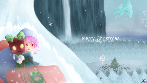 Sleigh ride through Freljord by Tineh-Animations
