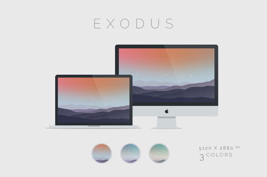Exodus Wallpaper 5120x2880px by dpcdpc11