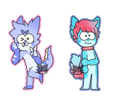 Akainya cheebs by Fox-mutts
