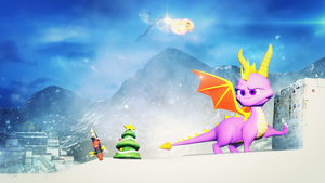 [DL] Spyro: Xmas story + SFM Model by Morganicism by ZOomERart