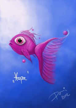 Little Fish of Hope by Aiwalabamba