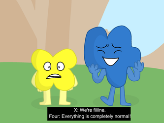 BFB 12- Screenshot redraw! by twilightvelvet2001