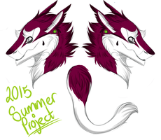 Sergal Concept! Summer Project 2015 by AtomicMilkshake