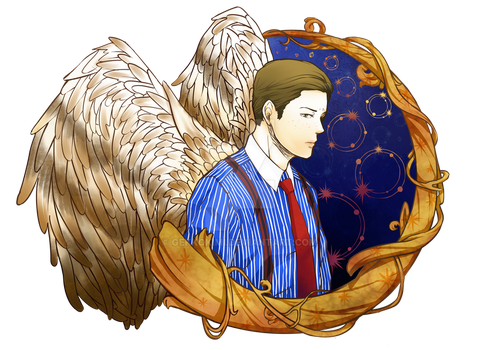 Dean Smith Angel of the Lord by gekkokimi