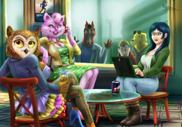 Let's talk about Bojack. by tiocleiton