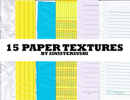 [RES] 15 Paper Textures -- STOPPED SHARING by abcdefgeliney
