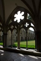 Cathedral Archway by Cynnalia-Stock