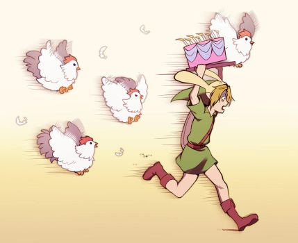 Run Link, RUN!!! by longestdistance