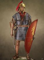 Roman Republican Legionary by JLazarusEB