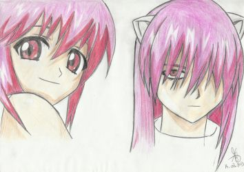 Nyu and Lucy by dred69