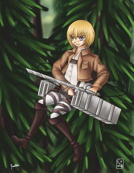 Attack on Titan Armin by Yunsildin